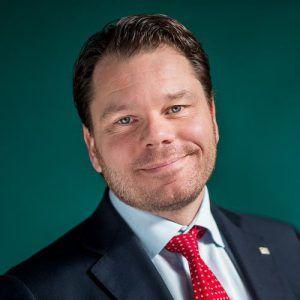 Christoffer Svanberg, affärsområdeschef Marknad på Skellefteå Kraft