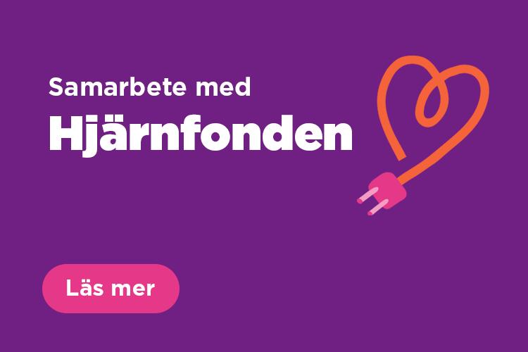 Läs mer om samarbetet mellan Hjärnfonden och Skellefteå Kraft