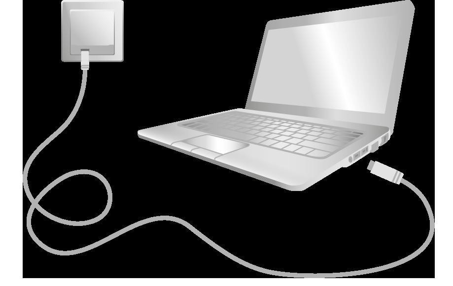 Anslut din dator till bredbandsuttaget