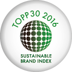 Sigill topp 30 Sustainable Brand Index 2016