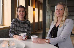 Qraftsamling_Eva Söderberg och Elin Bergsten