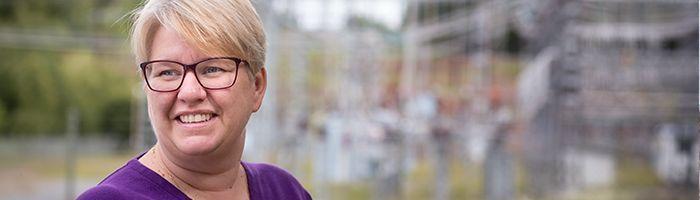 Kunderna allt nöjdare med service och erbjudanden - Eva Axelsson VD för Skellefteå Kraft Elnät AB