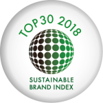 Topp 30 Sustainable brand index