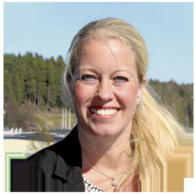 Sanna Lundström, avdelningschef Kundutveckling