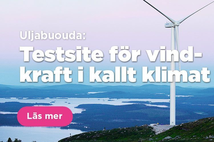 Uljabuouda, testsite för vindkraft i kallt klimat