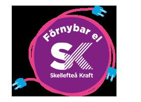 Rörligt elpris med 100 % förnybar el från Skellefteå Kraft.