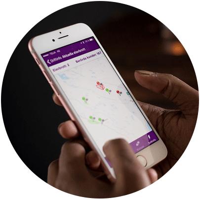 Var med och tyck till om Skellefteå Krafts app!