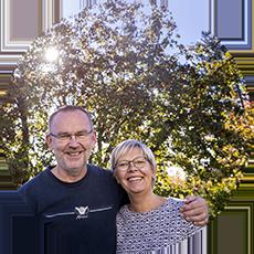 Anders och Marianne tar tillvara på solens energi