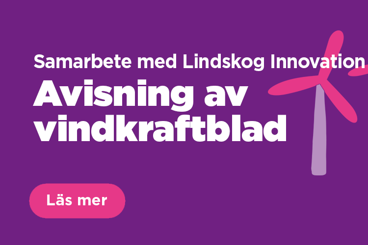 Samarbete med Lindskog Innovation för avisning av vindkraftblad