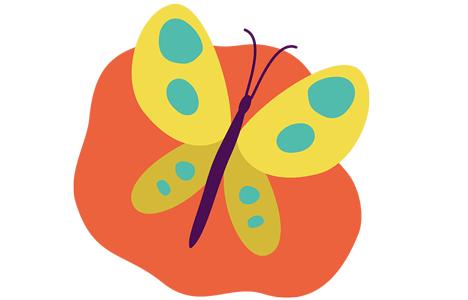 Illustration över biologisk mångfald