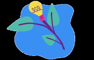 Illustration över hållbar affärsutveckling