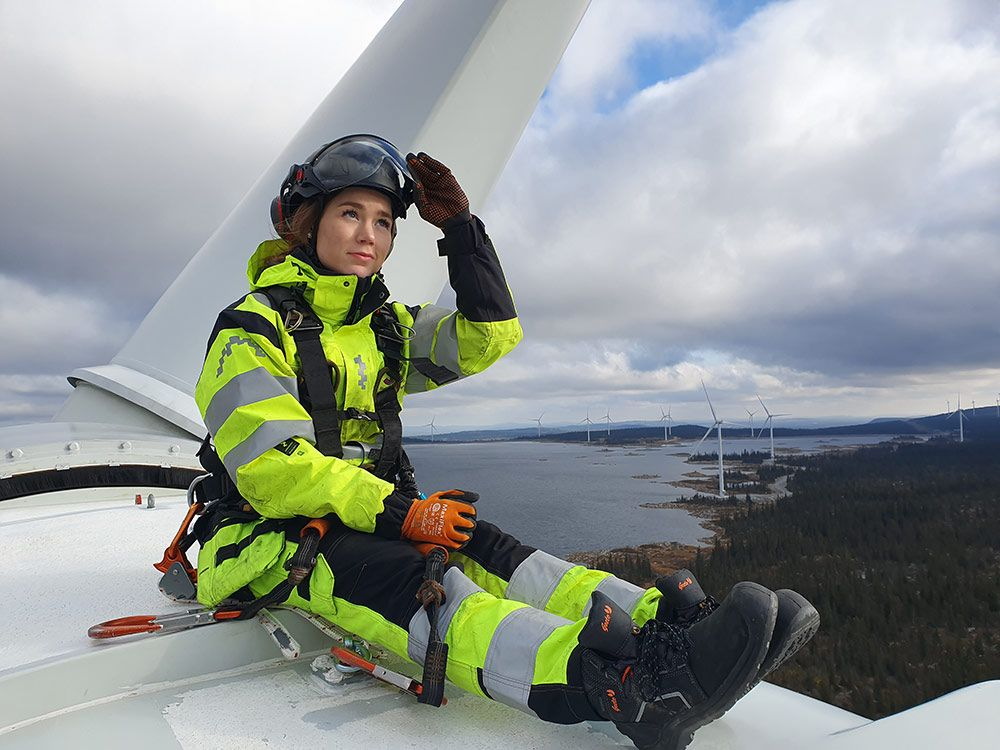 Greta Blomstrand. trainee på Skellefteå Kraft