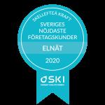 Skellefteå Kraft har Sveriges mest nöjda kunder i kategorin Elnät företag