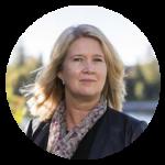 Catarina Hägglund, chef Kommunikation och hållbarhet på Skellefteå Kraft