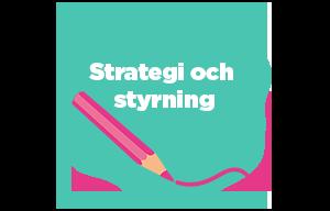 illustration över strategi och styrning