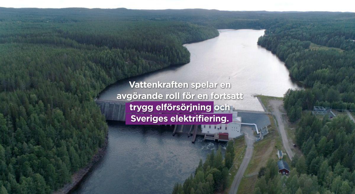 Vattenkraften spelar en avgörande roll för en fortsatt trygg elförsörjning och Sveriges elektrifiering.